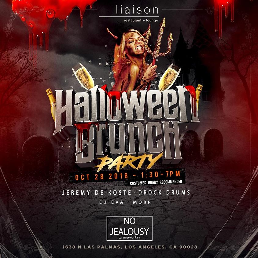 No Jealousy Halloween Sunday Party Brunch