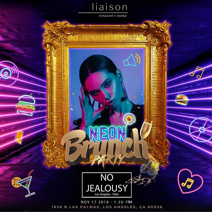 No Jealousy Sunday Party Brunch - Neon Theme.