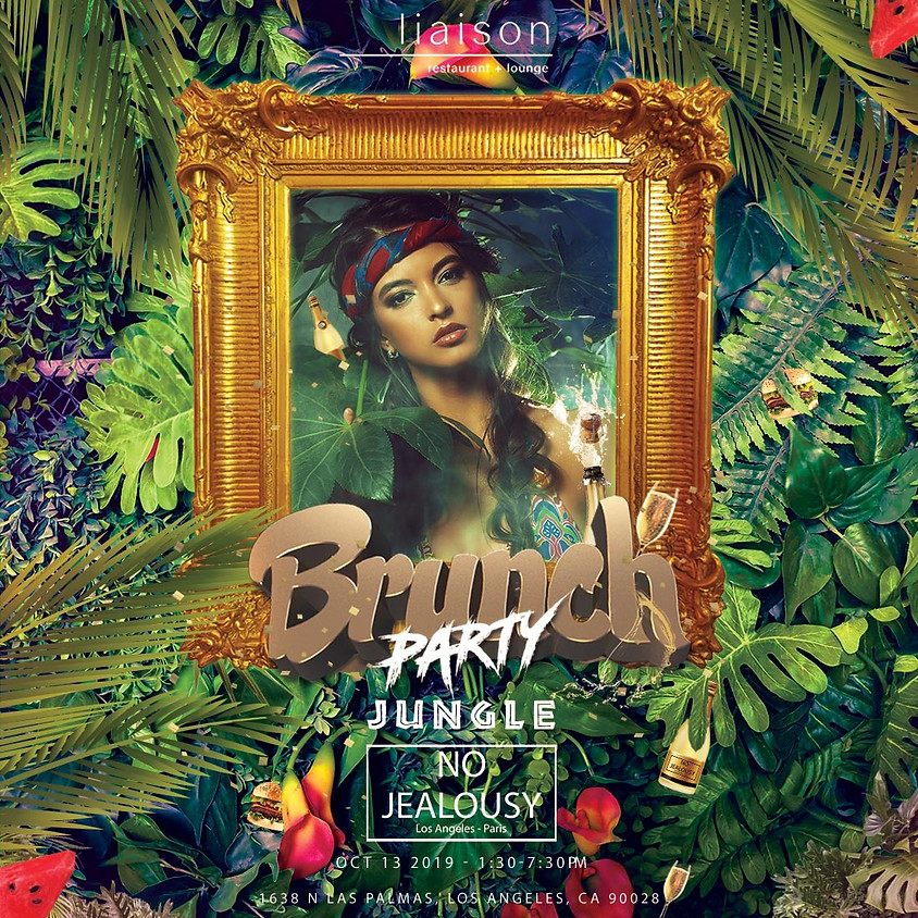 No Jealousy Sunday Party Brunch - Welcome to the Jungle