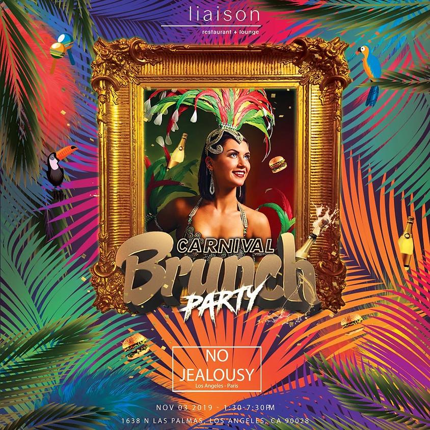 No Jealousy Sunday Party Brunch - Carnival theme