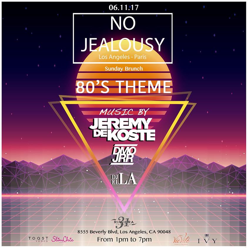 No Jealousy Sunday Brunch Party - 80's Theme