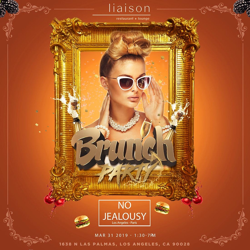 No Jealousy Sunday Party Brunch at Liaison Hollywood