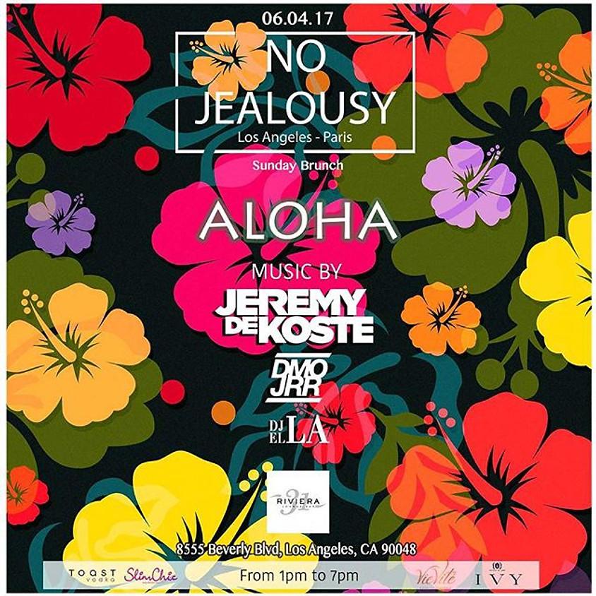 No Jealousy Sunday Brunch Aloha Hawaii