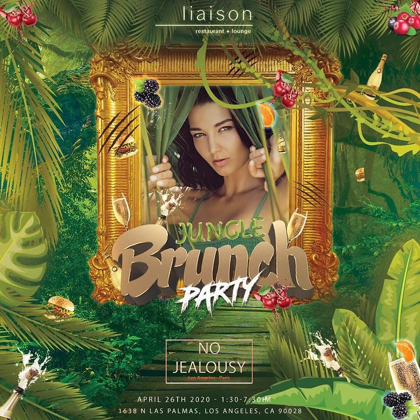 No Jealousy Sunday Party Brunch - Jungle Theme