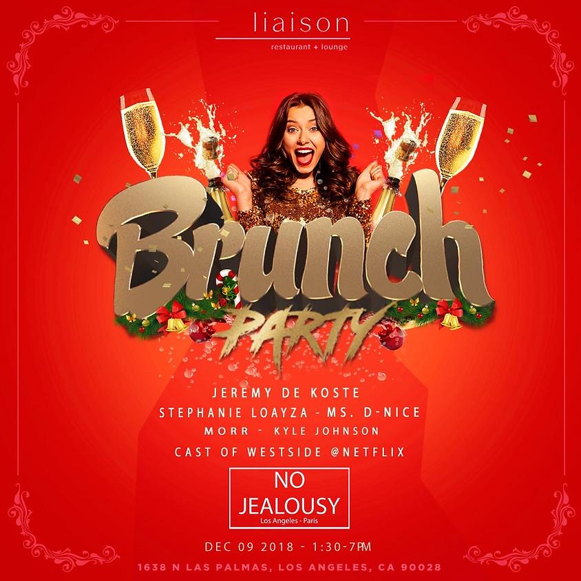 No Jealousy Sunday Party Brunch  Special Christmas Holiday