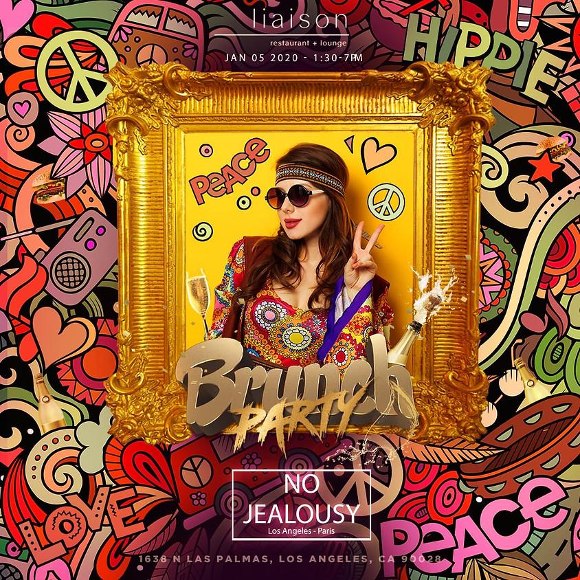 No Jealousy Sunday Party Brunch - Hippie Themed