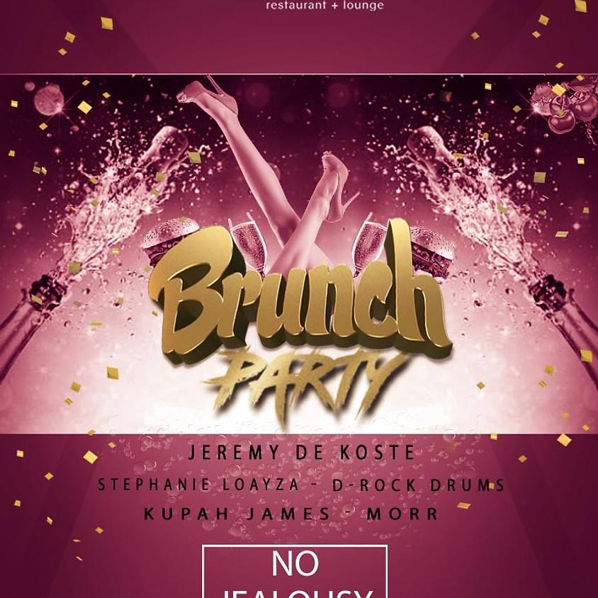 No Jealousy Sunday Party Brunch  - 1st one of 2019