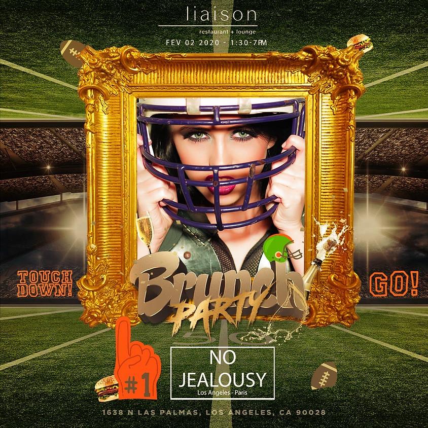 No Jealousy Sunday Party Brunch - Super Bowl Sunday Funday