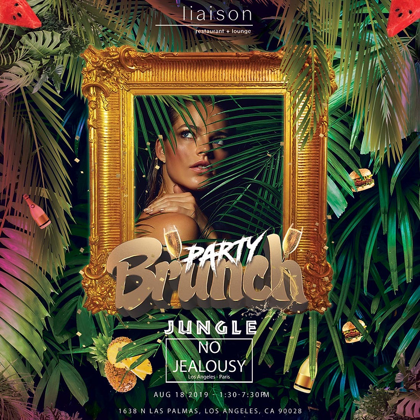 No Jealousy Sunday Party Brunch  - Welcome to the JUNGLE!