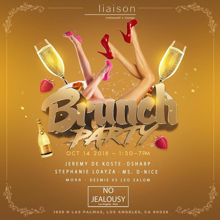 No Jealousy Sundayl Party Brunch at Liaison