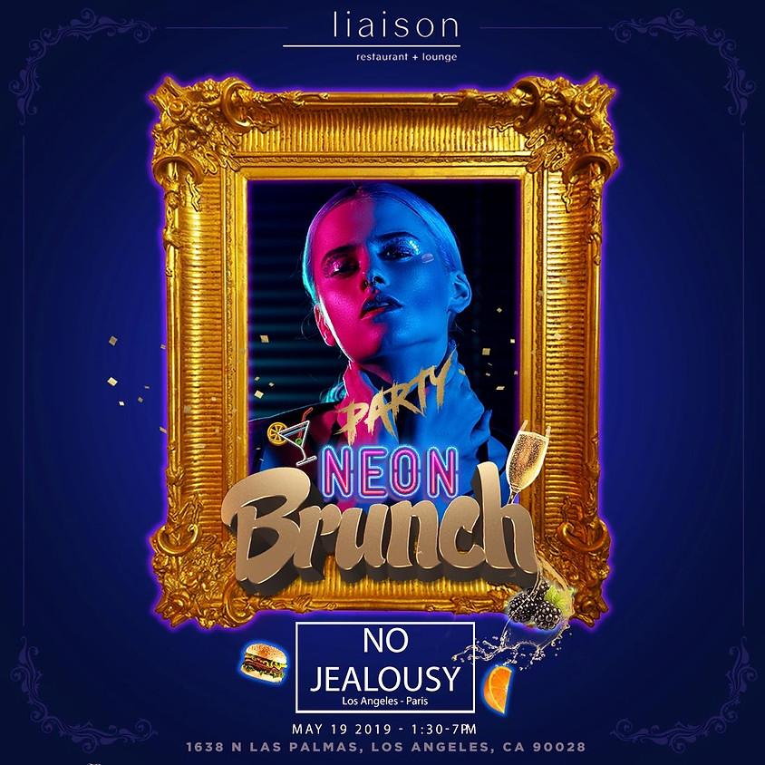 No Jealousy Sunday Party Brunch - Neon Vibes