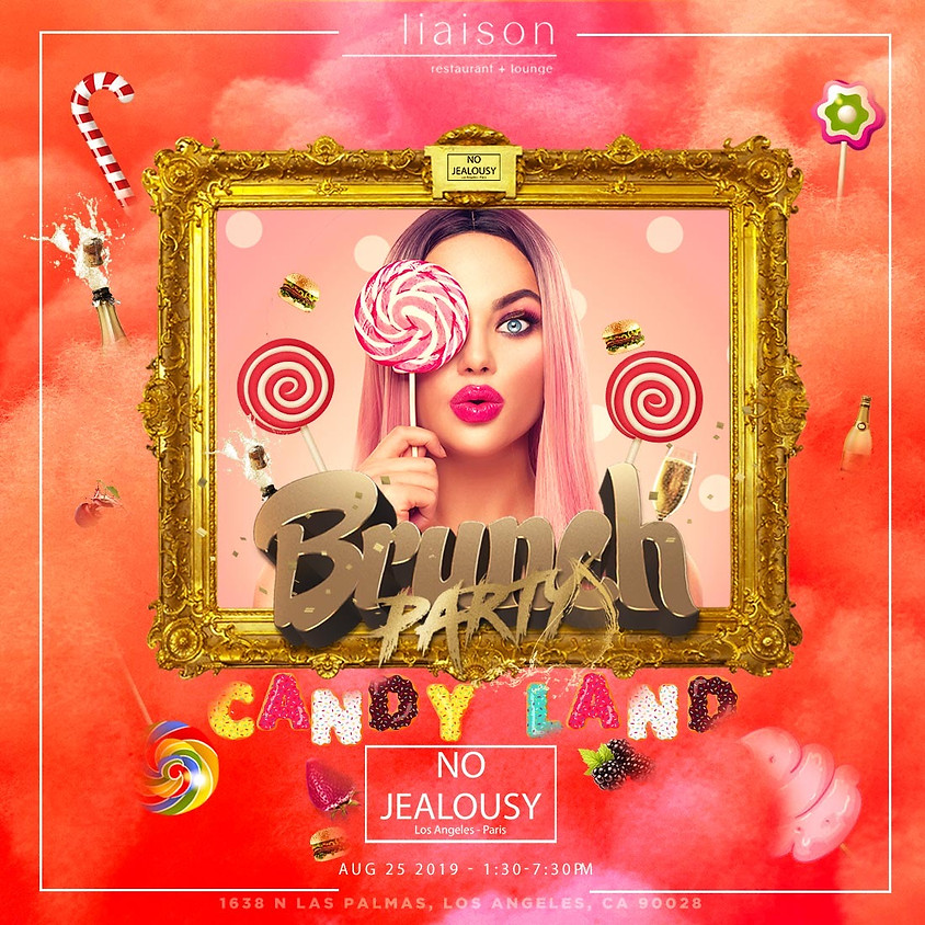 No Jealousy Sunday Party Brunch - Welcome to Candyland
