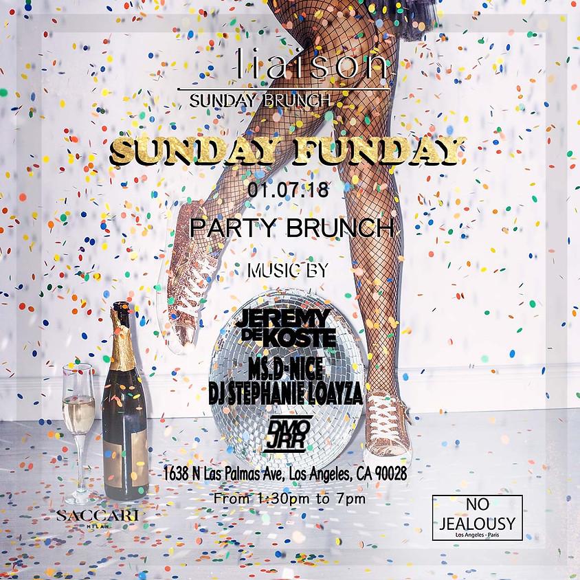No Jealousy Sunday Brunch Party at Liaison