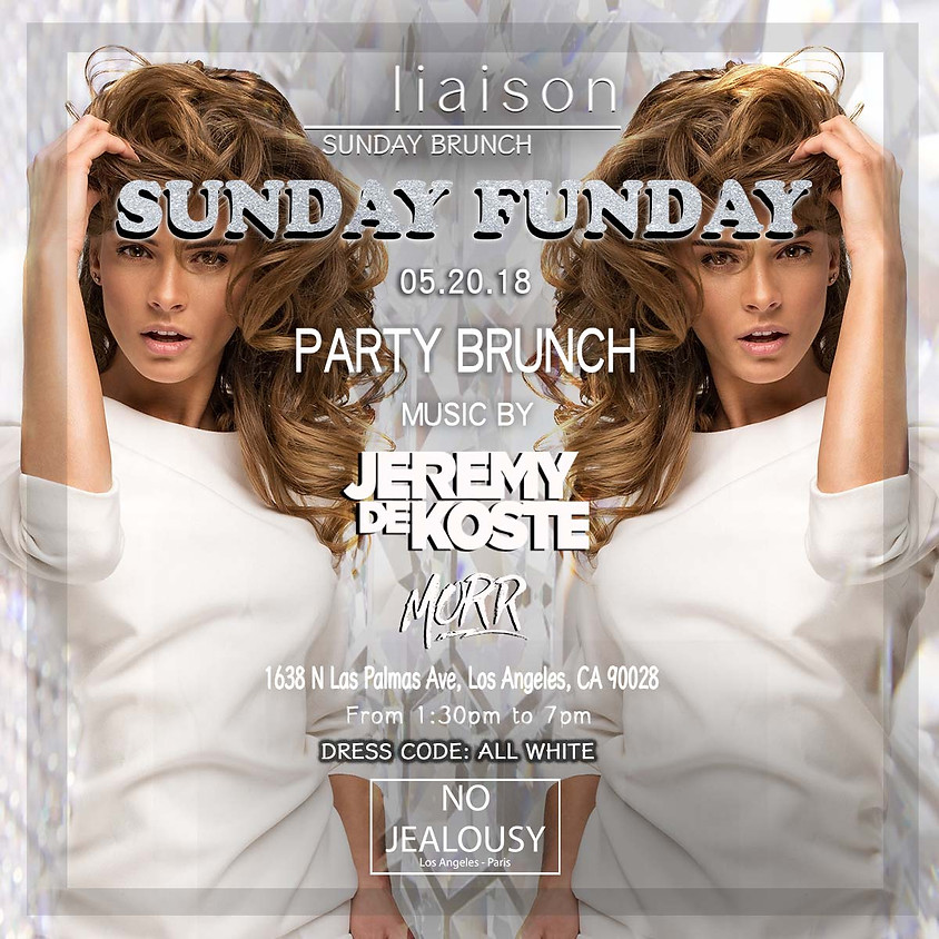 No Jealousy Sunday Party Brunch - White Party Themed