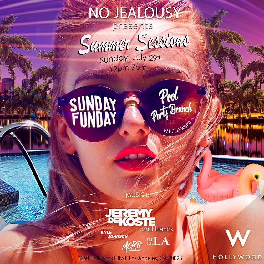 No Jealousy Sunday Pool Party Brunch