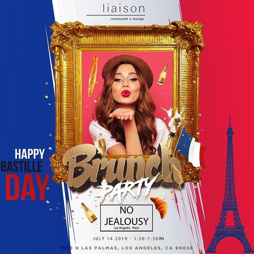 No Jealousy Sunday Party Brunch - Special Bastille Day