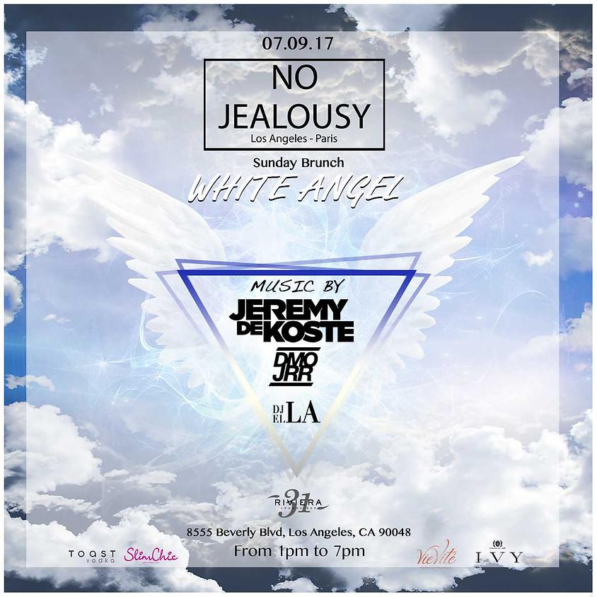 No Jealousy Sunday Brunch Party - White angel