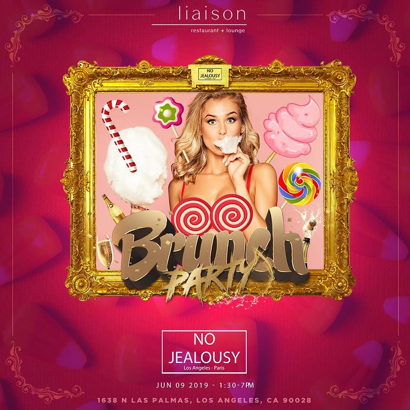 No Jealousy Sunday Party Brunch - CandyLand Themed