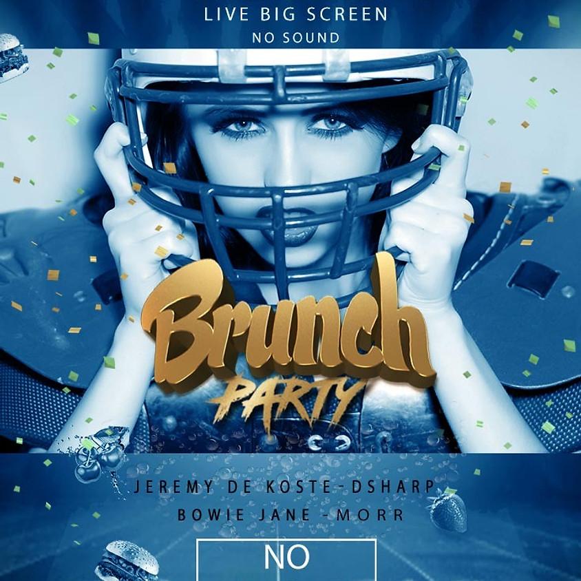 No Jealousy Sunday  Party Brunch  - Special Super Bowl