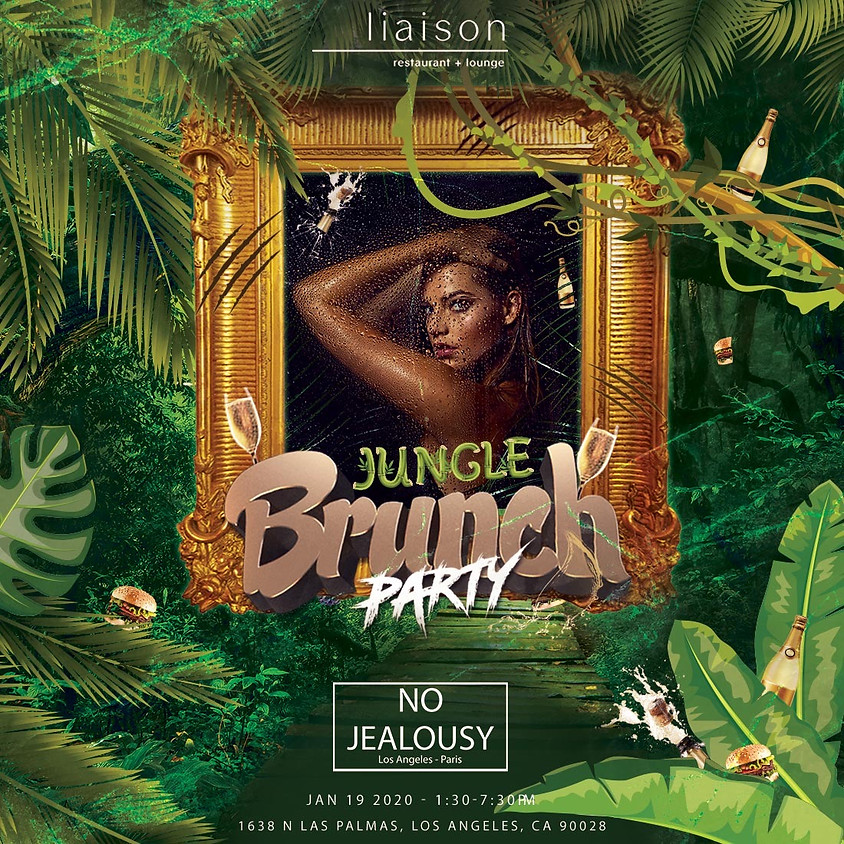 No Jealousy Sunday Party Brunch - Welcome to the Jungle Themed