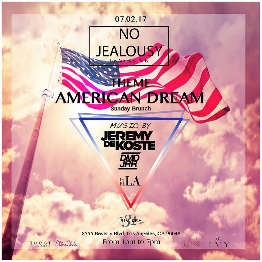 No Jealousy Sunday Brunch Party - American Dream