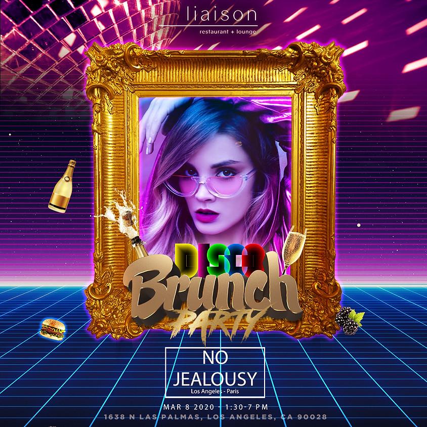 No Jealousy Sunday Party Brunch - Disco Themed