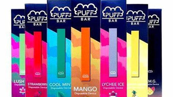 Puff Bar Disposible Vapes 5%