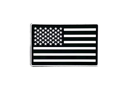 American Flag Black/White