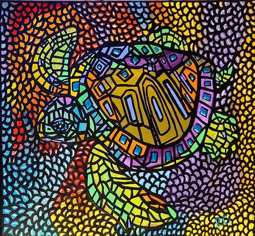 ALOHA HONU by Rene Cosby