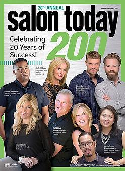 Salon Today Top 200 cover hair salon award