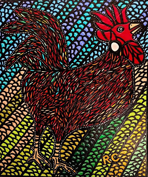 Red Rooster by Rene Cosby