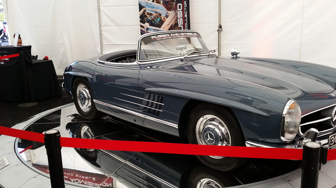 Car Turner Classic Mercedez Benz 300 SL