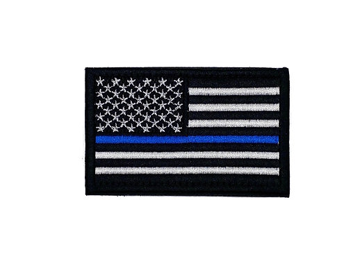 Police Department American Flag