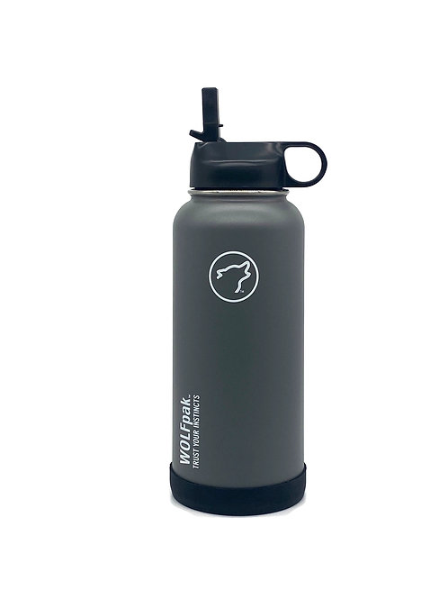 32oz pakFLASK Grey
