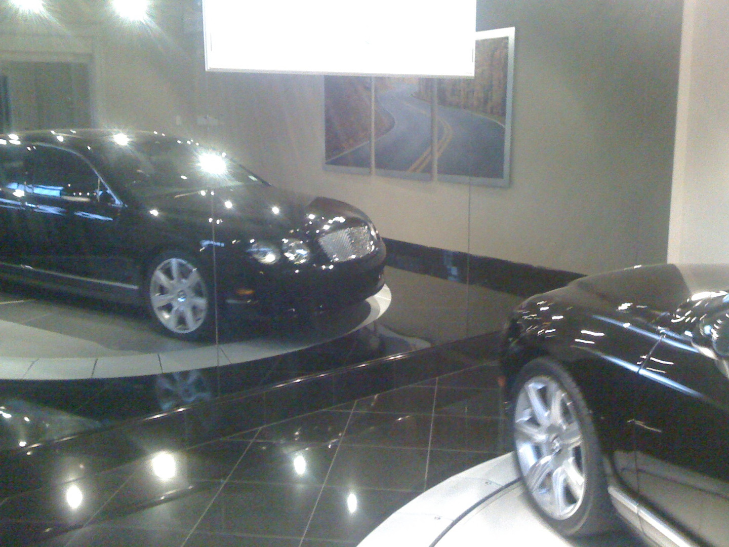 Bentley Flying spur in garage in CT.jpg