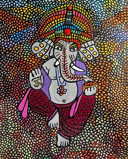 Sri Ganesha by Rene Cosby