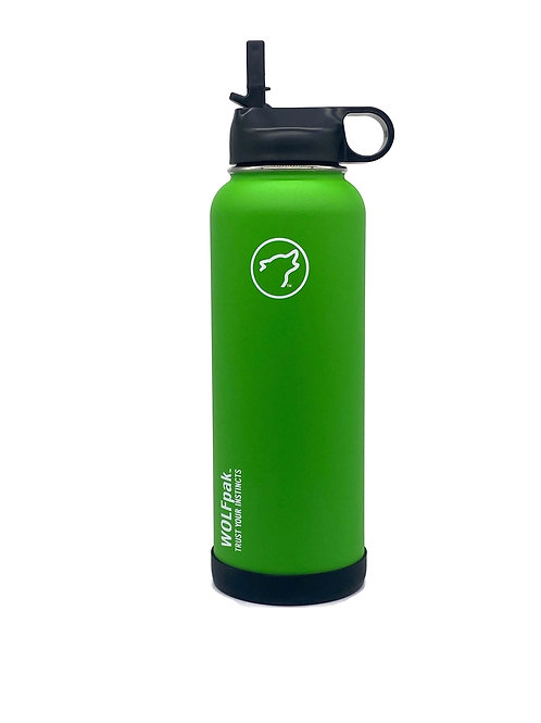 40oz pakFLASK Lime Green