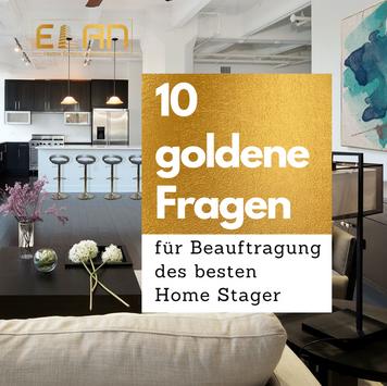 10 goldene Fragen Home Staging