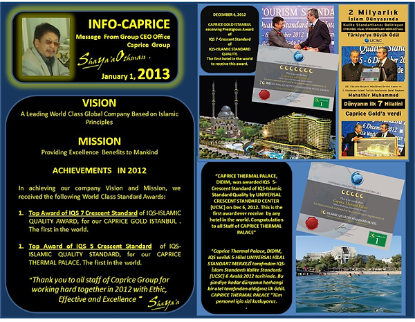 CAPRICE GROUP Mission and Vision 2013.pn