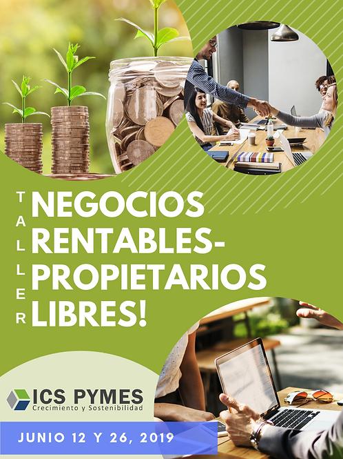 TALLER NEGOCIOS RENTABLES-PROPIETARIOS LIBRES