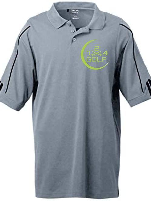 724 Golf Polo - Gray