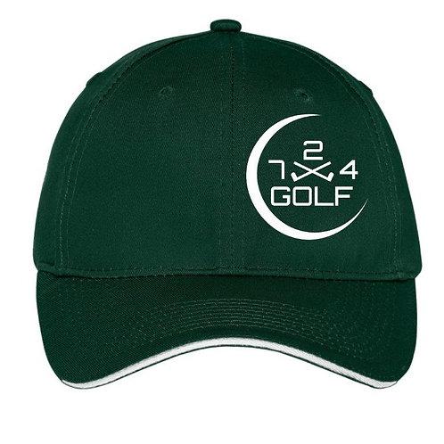 724 Golf 6-Panel Hat - Hunter Green