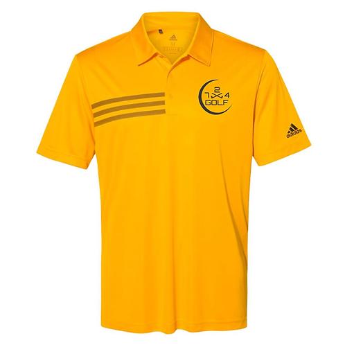 724 Golf Polo - Gold