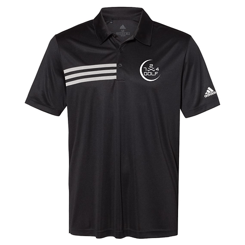 724 Golf Polo - Black