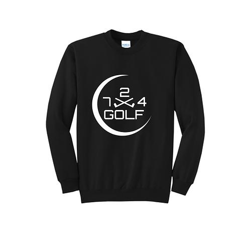 724 Golf Sweatshirt - Black