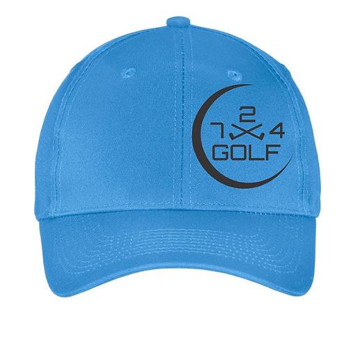 724 Golf 6-Panel Hat - Carolina Blue