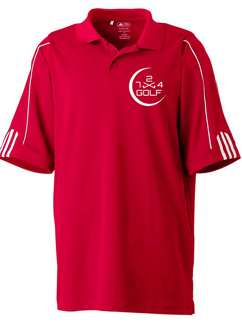 724 Golf Polo - Red