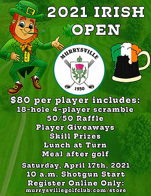 Irish Open Scramble - $80