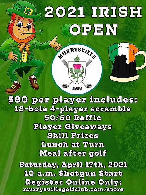 Irish Open Scramble - $80