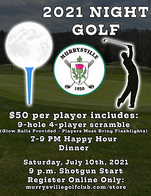 Night Golf - $50